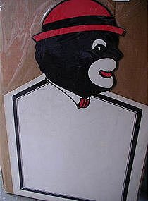 Fab 1940s Black Man Restaurant Menu Board