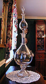 Early Hand Blown Apothecary Pharmacy Showglobe