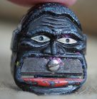 C1930s Germany Black Man Face Metal Pencil Sharpener
