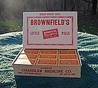 Brownfields Little Pills Pharmacy Drug Store Display