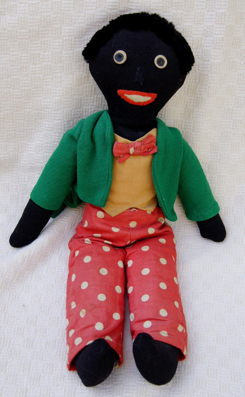 Ca 1940s Florence Upton Golliwogg Doll Exquisite Black Americana