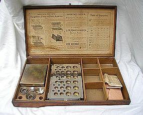 19thC Pharmacy Apothecary Konseal Filling Apparatus