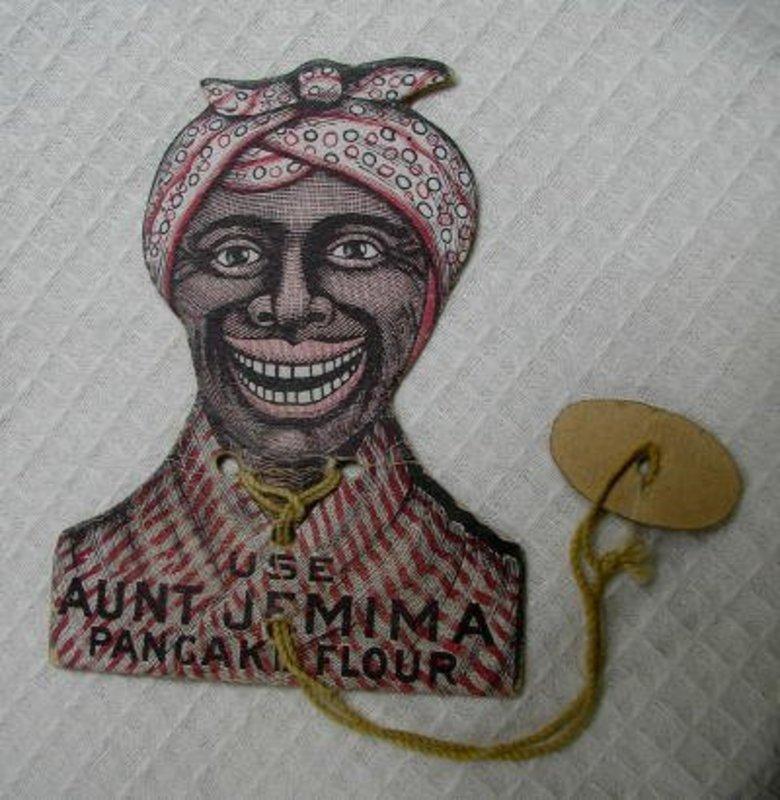 C1910 Aunt Jemima Black Memorabilia Advertising Puzzle