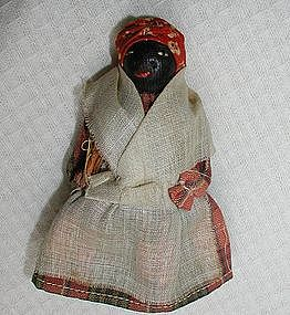 Wonderful 1920s Black Memorabilia Mammy Nipple Doll