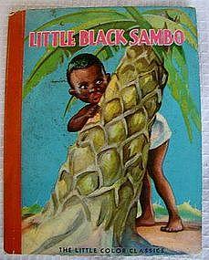 Wonderful 1938 McLoughlin Bros Little Black Sambo Book