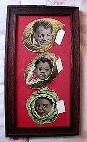 1920s Black Memorabilia Sapolio Soap Diecut Advertising