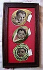 1920s Black Memorabilia Sapolio Soap Diecut Advertising