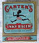1920s Black Memorabilia Complete CARTER's INKY RACER