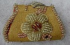 C1910  Native American Iroquois Beaded Change Purse