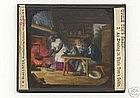 "RARE 19thC Magic Lantern Slide Set ""Uncle Tom's Cabin"""