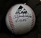 SignedBall Negro League Baseball Player CLIFFORD LAYTON