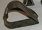 Unusual 19thC Tin Pennsylvania Robacher Estate Heart Cookie Cutter