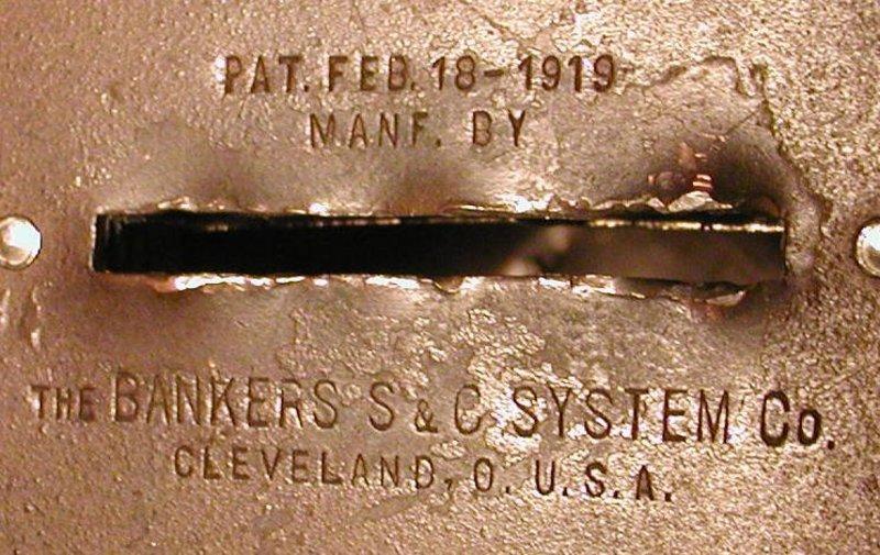 1919 Liberty Bell Still Bank - Mechanics Savings Bank