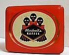 Sweet 1930s Negro German Coffee Tin w/ 3 Black Children