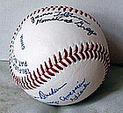 Signed Negro League Baseball JoeTillman JamesDurham