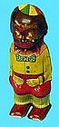 1920s Black Boy Lithographed Tin Wind-Up Walker Toy