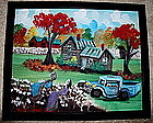 Original Art Southern Black Folk Artist Geraldine Smith
