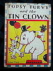 1934 Topsy Turvy + the Tin Clown Black Memorabilia Book