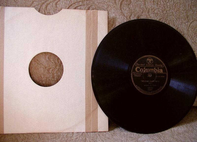 5 JIM CROW Black Memorabilia 78RPM Records w/ Jackets