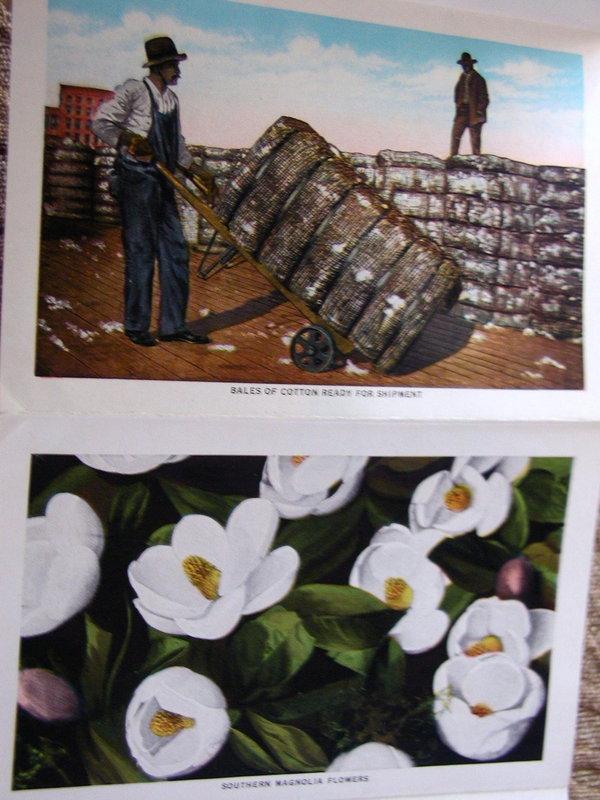 1930 Souvenir Real Photo Postcard Folder DIXIELAND