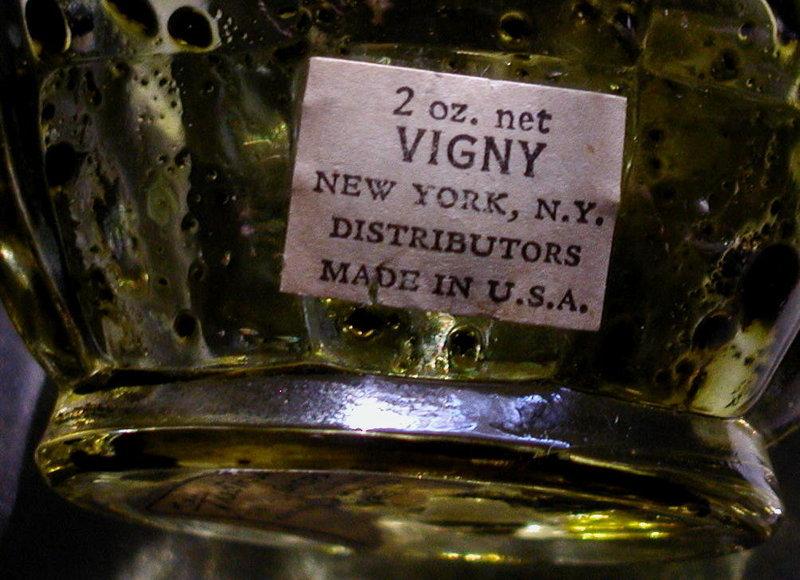 1930Art Deco Black Memorabilia VIGNY Golliwogg Perfume