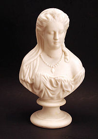 Parian bust of Juliet by John & Thomas Bevington