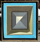 �Abstract� by Joseph Amarotico (Am. 1931-1985)