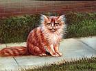 Kitten by W.C. Addison,  (American, 19th Century)