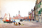 Venice by Alexander Brownlie Docharty (b.1862)