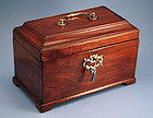 Rare George III Tea Caddy with Secret Drawer