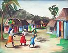 Haitian Scene by Louverture Poisson