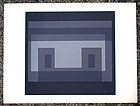 Print for �Formulation:Articulation� by Josef Albers