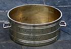Rare English Brass Imperial Bushel Measure