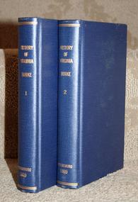 """The History of Virginia"" by John Burke"