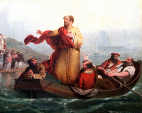 Christ on the Sea of Galilee