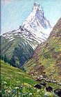 """""""The Matterhorn"""" by Anna Richards Brewster"""