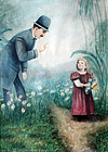 No Picking the Flowers!  (British, late 1800's)