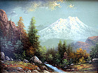 Mount Shasta, California by Eliza Barchus (Am. b.1857)