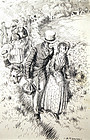 Original Dickens Illustration by A. Talbot Smith (Br.)
