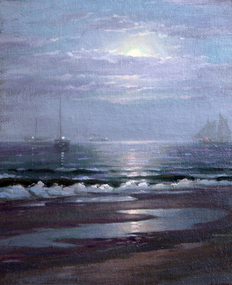 Moonlight on the Chesapeake by Charles Watson