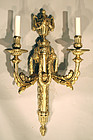 Exceptional French Ormolu Wall Sconce