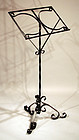 American Wrought Iron Dictionary or Music Stand
