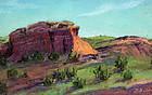 Tiny Western Landscape