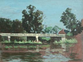Silver Lake, Wilson, NC by  James Francis O'Brien
