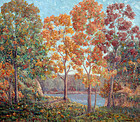 American Impressionist Landscape