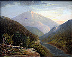 Small Hudson River School Landscape