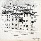 View of Sienna by Albert Southwick (American, b. 1872)