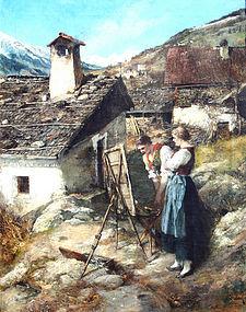 Ferdinand Leeke (German, 1859-1923