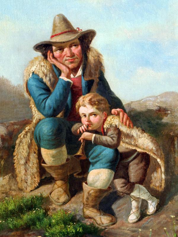 Shepard with Boy (19th European School)
