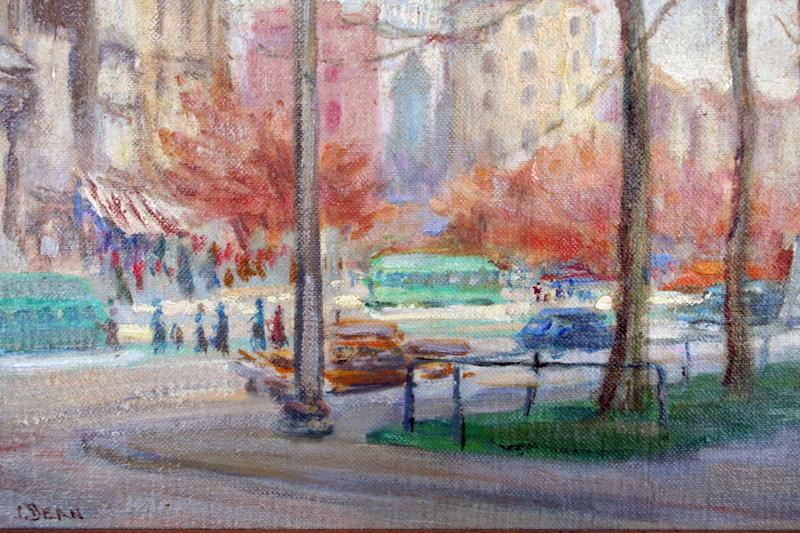 View of the US Capitol by Caroline van Hook Bean